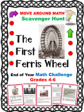 Math Review Scavenger Hunt The First Ferris Wheel