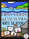 End-of-Year Math Review-Write the Room