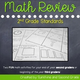 Math Review of 2nd Grade Skills [Perfect for Beginning of