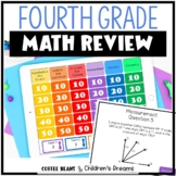 Test Prep End of Year Math Review for Fourth Grade
