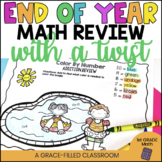 End of Year Math Review with a Twist {1st Grade}