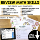 End of Year Math Review with a Twist {2nd Grade}