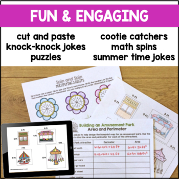 End of Year Math Review with a Twist {3rd Grade}