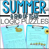 Summer Math Enrichment- Math Logic Puzzles