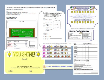 End of Year Math and Reading Games, Centers, Activities, Awards, Gifts