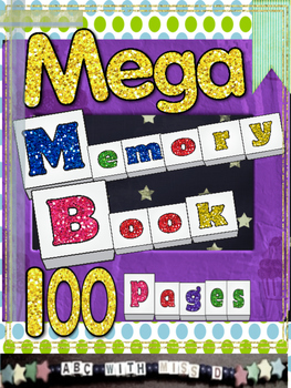 End of Year Mega Memory Book-Over 100 Pages of Creative Writing Prompts