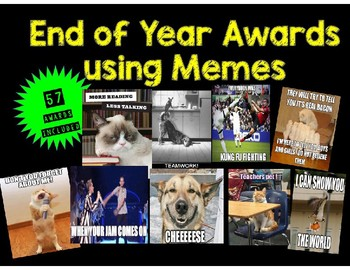 End of Year Meme Awards (with over 50 Awards!)