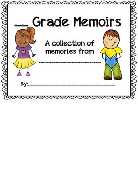 End of Year Memoir Flip Book