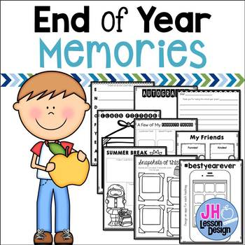 End of Year Memory Pages