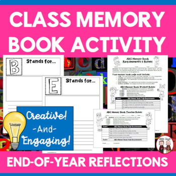 End of the Year Activities Class Memory Book