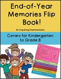 2018 Year End Memories Flip Book! - Title Pages for Kinder