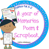 End of Year Memories Kindergarten First and Second