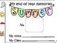 End of the year Activities - for kindergarten Autism/Speci