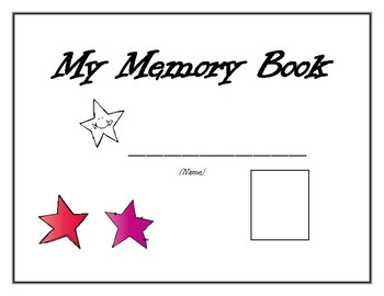 End of Year Memory & Activity Book