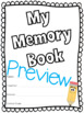End of Year Memory Book!