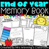 End of Year Memory Book! (editable & pdf)