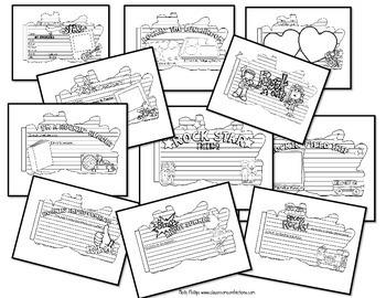 End of Year Memory Book: 3rd Grade, 4th Grade, 5th Grade