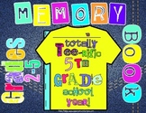 End of Year Memory Book: 2nd Grade, 3rd Grade, 4th Grade, 5th Grade