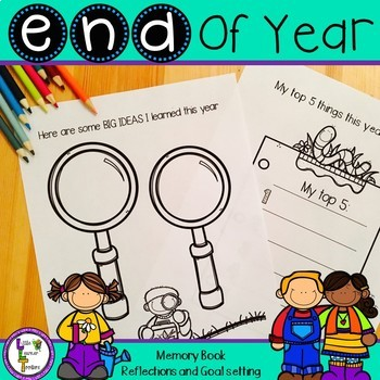 End of Year - Reflections and Memory Book