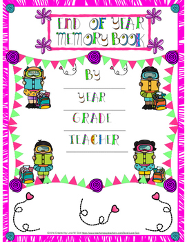 End of the Year Fun Memory Book