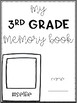 End of Year Memory Book - Yearbook for all grades!