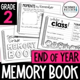End of Year Memory Book {2nd Grade} Updated for 2021!