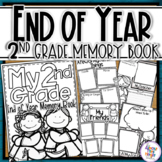 End of Year Memory Book - 2nd Grade writing and craft activity
