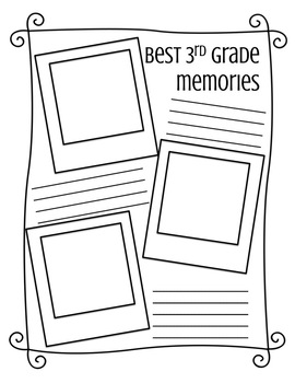 End of Year Memory Book (3rd Grade)