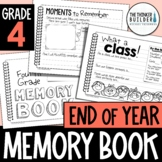 End of Year Memory Book {4th Grade} Updated for 2021!