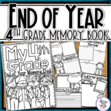 End of Year Memory Book - 4th Grade writing and craft activity