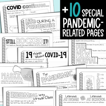 End of Year Memory Book {5th Grade}