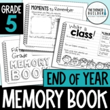 End of Year Memory Book {5th Grade} Updated for 2021!