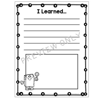 End of Year Memory Book Activity