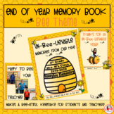 End of Year Memory Book- Bee Theme
