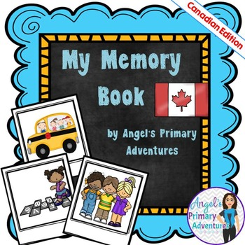 End of Year Memory Book (Canadian Edition)
