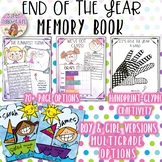 End of Year Memory Book & Craftivity