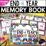 End of Year Reflection: End of Year Memory Book, Free Writing & Templates