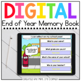 End of Year Memory Book Digital Activity   Distance Learning