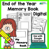 End of Year Memory Book - Digital Version Distance Learning