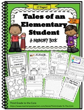 End of Year Memory Book - Elementary