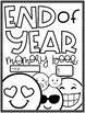 End of Year Memory Book {Emoji Themed}