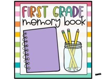 End of Year Memory Book End of Year Activity {Target Dollar Spot Books}