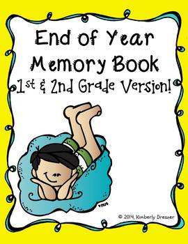 End of Year Memory Book {First & Second Grade Version}