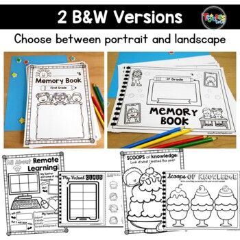 End of Year Memory Book: Grades 2-3