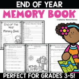End of Year Memory Book {Grades 2 - 5}