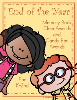 End of Year Memory Book II, Candy Bar Awards and Certificates!