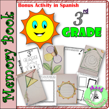 End of Year Memory Book-In English and Spanish-Libro de recuerdos- 3rd grade