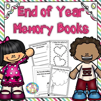 End of Year Memory Book  K and 1