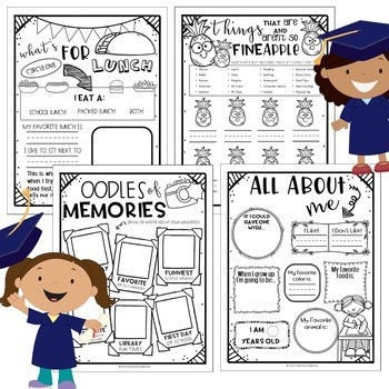 End of Year Memory Book - K & 1st