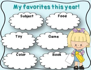 End of the Year Activities (End of Year Memory Book Kindergarten, 1st and 2nd)
